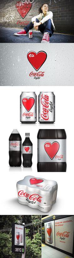 Packaging - Coca-Cola Light