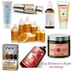 7 Easy Ways to Fix Sun Damaged Skin & Hair!