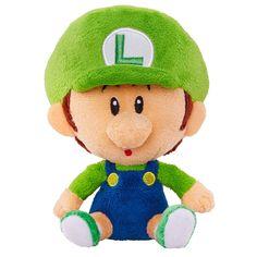 "World of Nintendo - Mario Bros. U - Plush - Baby Luigi - Jakks Pacific - Toys""R""Us"
