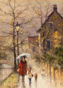 Rainy days....I love this painting