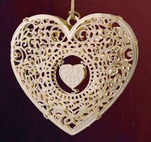 Baldwin filigree heart ornament #BA43061 Filigree Heart Ornament  wolfebrass.com