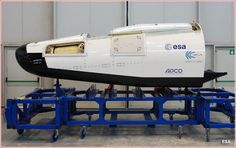 European Space Agency IXV Lifting body spacecraft.