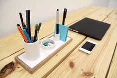 Mico - Ceramic Desk Organizer on Behance