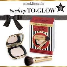 Touch Up To-Glow | A mini illuminating Touch Up Veil and brush duo. $15