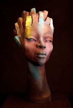 """""""Yrneh"""" sculpture by Chukes.   Original link is broken, click takes you to Hearne Fine Art, the gallery that showed the sculpture. Much other good art there!"""