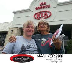 https://flic.kr/p/NTLgJp | Congratulations Denise on your #Kia #Soul from Michael Garr at Van Griffith Kia! | deliverymaxx.com/DealerReviews.aspx?DealerCode=PXVJ
