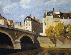 Bridge on the Seine, Edward Hopper