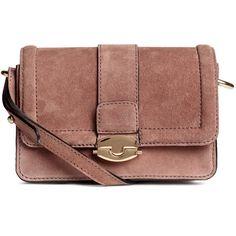 Suede Shoulder Bag $69.99 ($70) ❤ liked on Polyvore featuring bags, handbags, shoulder bags, flap handbags, brown suede purse, brown purse, vintage handbags and shoulder bag purse