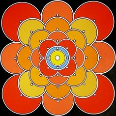 Sunfire Mandala by Brian Sylvester. See our article on Zatista, a Cool Tool for Artists! #artsales