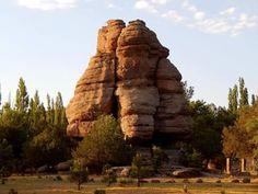 El Peñón del Cuadrado es una piedra icónica del Parque Nacional Cumbres de Majalca, Chihuahua