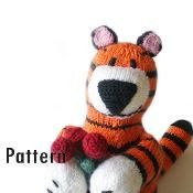 Paulo the Charming Tiger - via @Craftsy