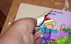 How to :: Altered Board Books