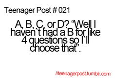 Teenager Post #021