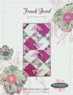 French Braid Mini Tablerunner by Pat Bravo