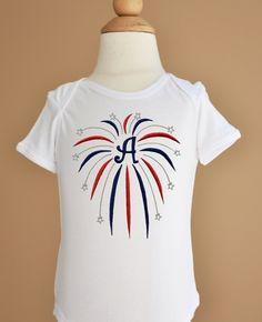 Fireworks Monogram Font-4th of July! - FSF