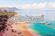 Valores: Aventura Plan de acción: -Trabajar duro para obtener los recursos suficientes para irte. -Tener tiempo y disposición de realizar el viaje. -Cumplir el sueño de conocer las hermosas playas de hawaii.