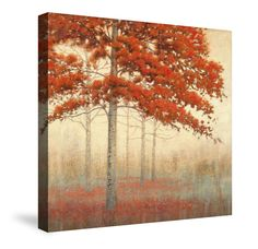 Autumn Trees II Canvas Wall Art – Laural Home