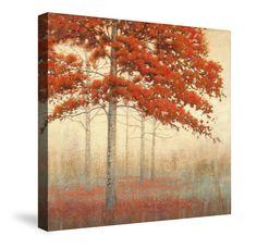 Autumn Trees II Canvas Wall Art – Laural Home