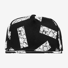 Abstract Square Pattern Hat