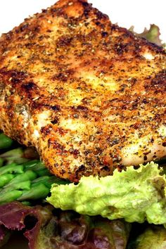 Grilled Sea Bass | KitchMe (love sea bass, good to know it's a sustainable…
