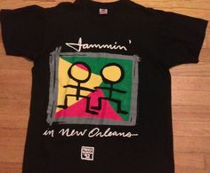 Jammin in New Orleans T-shirt..French Quarter...Vintage shirt..Louisiana!!!