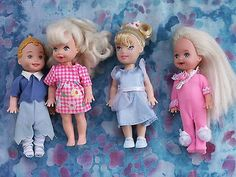 BARBIE-SISTER-KELLY-GROUP-159-LOT-OF-FOUR-1996