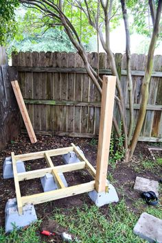 DIY Playhouse: How to Build a Backyard Playhouse for Your Toddler - Patrick Victor Hensel - DIY Playhouse: How to Build a Backyard Playhouse for Your Toddler Easy DIY Backyard Playhouse // Love & Renovations - Backyard Fort, Backyard Playset, Backyard Playground, Backyard For Kids, Diy For Kids, Toddler Playground, Backyard Ideas, Backyard Playhouse, Build A Playhouse