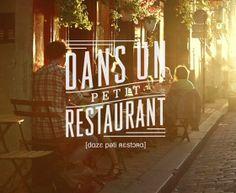 visit a quaint, vintagey restaurant