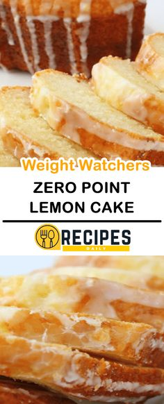 Zero Point Weight Watchers Lemon Cake – Daily Recipes – Famous Last Words Weight Watcher Desserts, Weight Watchers Snacks, Weight Watchers Kuchen, Plats Weight Watchers, Weight Watchers Cheesecake, Weigh Watchers, Ww Desserts, Healthy Dessert Recipes, Healthy Cake