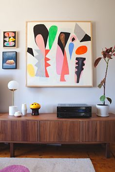 Kristina & Jason's Gorgeous, Graphic Australian Home