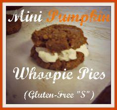 mini pumpkin whoopie pies