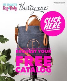 Get your FREE thirty-One Catalog by filling out this quick survey! #oneorganizedbaglady #thirtyonegifts #catalog #requests #organizedhome #bags #bagsandpurses #fall Thirty One Catalog, Free Catalogs, Personal Organizer, Thirty One Gifts, Tote Bag, Purses, Bags, Collection, Handbags
