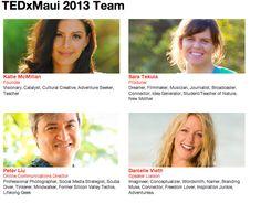 TEDxMaui Happens Jan. 13, 2013 at the Maui Arts and Cultural Center--dont miss it! xox yogagurl