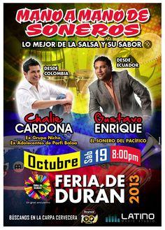 Latino Music - Concierto Charlie Cardona