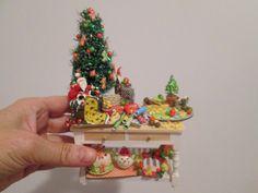Christmas miniatures http://ivanigrande.blogspot.com.br/
