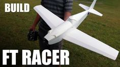 Rc plane building tutorial Step by step tutorial showing how to build the FT Racer speed build / scratch build airplane. Free build plans and more information here: http://flitetest.co...