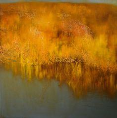 """Saatchi Art Artist Maurice Sapiro; Painting, """"Autumn Reflected"""" #art"""