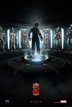 Iron Man 3 'ün Yeni Posteri ....