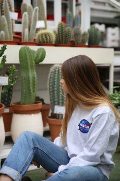 Sweaters + Sweatshirts Woman : NASA Sweatshirt Long