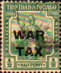 Trinidad and Tobago 1917 WAR TAX Overprint SG 182 Fine Mint Scott MR7 Other West Indies and British Commonwealth Stamps HERE!