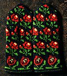 012 C Let's knit series - keitodama 161 2014 Knit Mittens, Mitten Gloves, Folk Costume, Beautiful Person, Rubrics, Color Mixing, Christmas Sweaters, Let It Be, Accessories