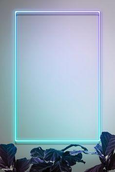 Green neon lights frame with tropical leaves mockup design Phone Wallpaper Images, Framed Wallpaper, Phone Screen Wallpaper, Iphone Background Wallpaper, Dslr Background Images, Instagram Background, Instagram Frame, Neon Light Wallpaper, Aesthetic Pastel Wallpaper
