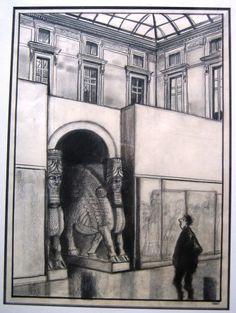 Quentin Blake, Global Art, Illustrations And Posters, Comic Artist, Art Market, Louvre, Comics, Artwork, Painting