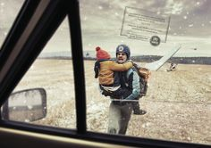 Read more: https://www.luerzersarchive.com/en/magazine/print-detail/unhcr-62364.html UNHCR Josef Hlavatý flew over the Iron Curtain on a hang glider with his three-year-old son. He told himself that if they die, at least they'll die together. – They survived. – And just like the other 250.000 Czechoslovaks fleeing communism, they were welcomed abroad. Campaign by the UNHCR. Tags: Miro Minarovych,Young & Rubicam (Y&R), Prague,Tereza Sverakova,Jaime Mandelbaum,UNHCR,Dora Pruzincova,Atila…