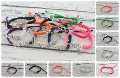 GroopDealz | Love Encrusted Shaballa Bracelets-10 Options!!!