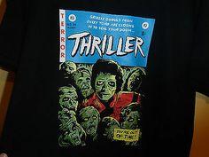 Michael Jackson Thriller T Shirt Men's L Size Large New UNWORN MJ Tee Halloween | eBay