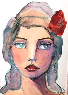 7. Acrylic Paint - Jane Davenport Art School