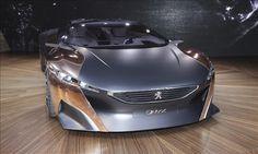 Peugeot Onyx Concept. 680 Horsepower Diesel-Electric.