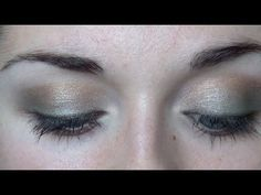 Tutorial: In the Garden *Green and Gold Makeup*