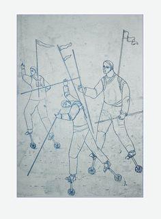 Monoprint by Pawel Krol Art, Art Background, Kunst, Art Education